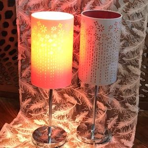 Accents - Unique rare City lights table lamp 2 available